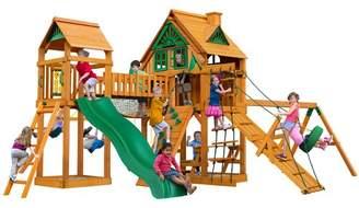 Gorilla Playsets Pioneer Peak Treehouse Swing Set