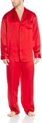 Geoffrey Beene Men's Silk Pajama Set