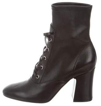 Gianvito Rossi Lace-Up Mid-Calf Boots w/ Tags