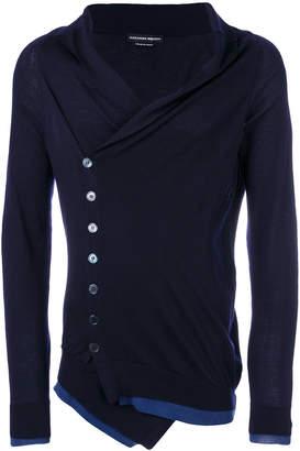 Alexander McQueen shawl collar cardigan