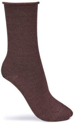 Brunello Cucinelli Mélange Cashmere-Blend Socks