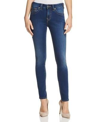 True Religion Jennie Curvy Skinny Jeans in Lands End Indigo