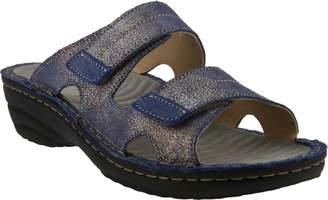 Spring Step Leather Slide Sandals - Marsela
