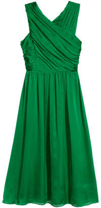 H&M Draped Dress - Green