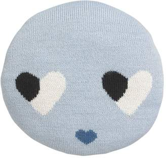 Luckyboysunday Sweetheart Alpaca Knit Stuffed Pillow