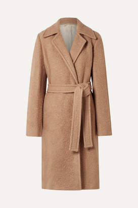 Helmut Lang Alpaca And Wool-blend Coat - Sand