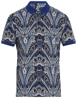 Etro Abstract paisley-print cotton-piqué polo shirt