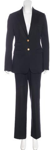 Dolce & Gabbana Dolce & Gabbana Fitted Virgin Wool Pantsuit