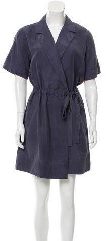 Marc by Marc Jacobs Silk Wrap Dress
