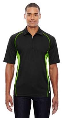 Ash City - North End Men's Serac UTK cool?logik Performance Zippered Polo