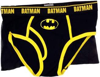 Briefly Stated Batman Dark Night Caped Brief for Men