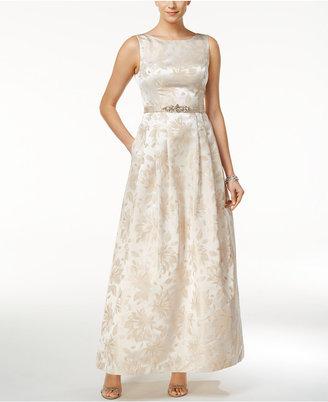 Jessica Howard Embellished Boat-Neck Gown $179 thestylecure.com