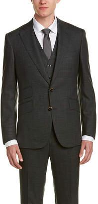 Robert Graham 3Pc Jalen Vested Wool Suit
