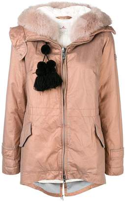 Peuterey tassel detail puffer jacket