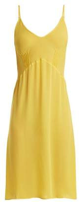 Araks - Cadel Silk Crepe Slip - Womens - Yellow