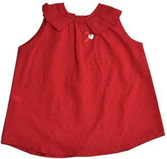 Granlei 1980 Red Sleeveless Blouse