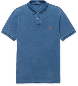 Polo Ralph Lauren Slim-Fit Washed Cotton-Piqué Polo Shirt