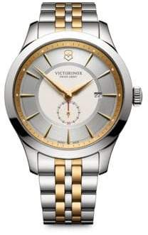 Victorinox Two-Tone Stainless Steel Chronograph Bracelet Watch