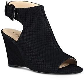 Women's Nine West Gorana Wedge Ankle Strap Sandal $98.95 thestylecure.com