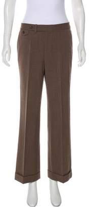 Lauren Ralph Lauren Mid-Rise Wool Pants
