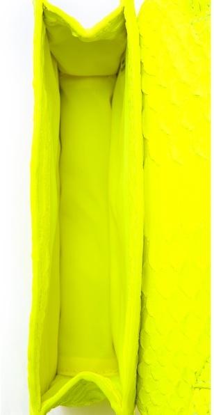 Tory Burch Neon Snake Cross Body Bag