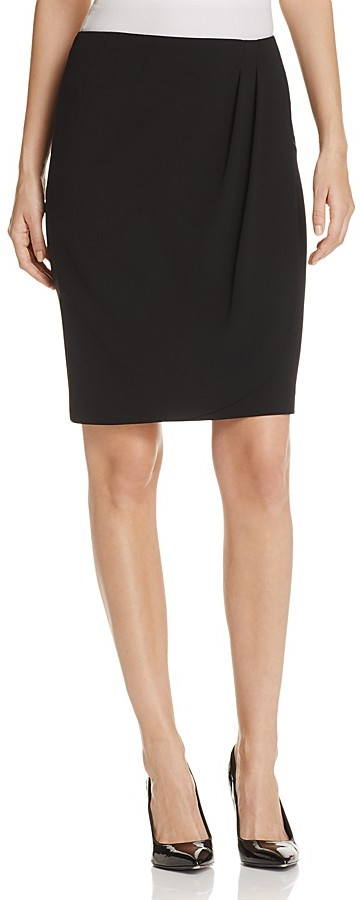 Armani Collezioni Faux-Wrap Skirt