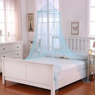 Casablanca Kids Kids Galaxy Collapsible Hoop Sheer Mosquito Net Bed Canopy