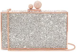 Sophia Webster Clara crystal-embellished clutch bag