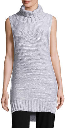 Calvin Klein Collection Dominic Turtleneck Sleeveless Sweater