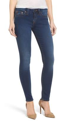 True Religion Brand Jeans Halle Mid Rise Skinny Jeans