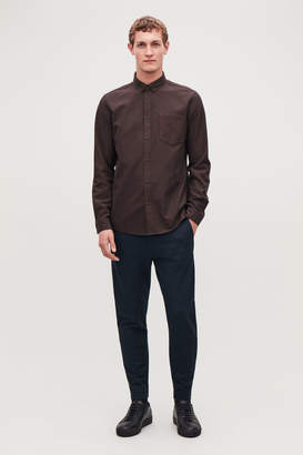 Cos ZIP-CUFF JERSEY TROUSERS