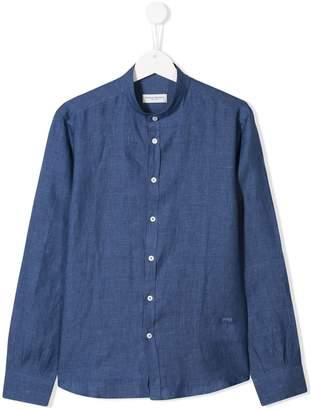 Paolo Pecora Kids mandarin collar shirt