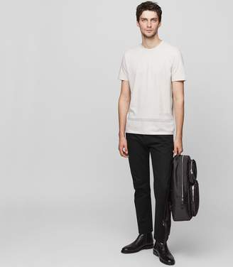Reiss Aaron Cotton Detail T-Shirt