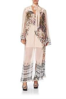 Camilla Long Sleeve Dress W/ Yoke