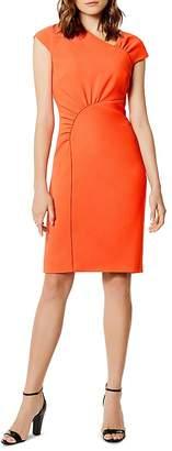 Karen Millen Asymmetric Gathered Dress