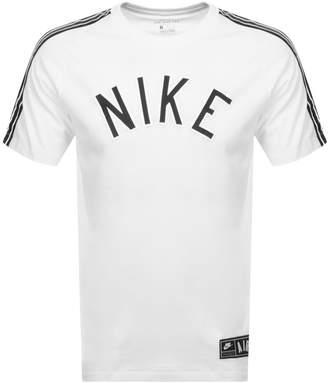 Nike Logo T Shirt White