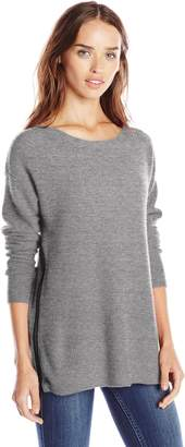 Design History Women's Cashmere Colorblock Sweater