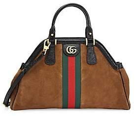 Gucci Women's Borsa Linea Medium Top Handle Leather Tote