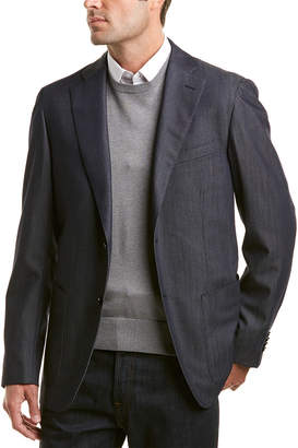 Caruso Tailored Wool Tailored Jacket