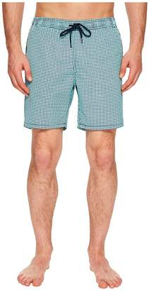 Mr.Swim Mr. Swim Dots Printed Dale Swim Trunks Men's Swimwear