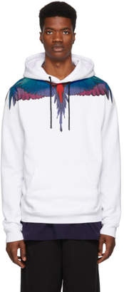 Marcelo Burlon County of Milan White Wings Hoodie