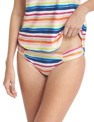 Splendid Watercolor Horizon Reversible Swim Bottom, Multicolor $54 thestylecure.com