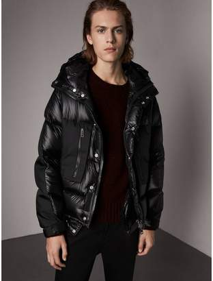Burberry Oversized Down-filled Hooded Puffer Jacket