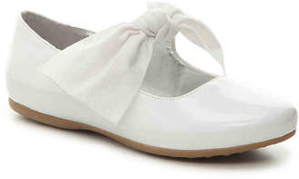 Kenneth Cole New York Rose Tie Toddler & Youth Mary Jane Flat - Girl's