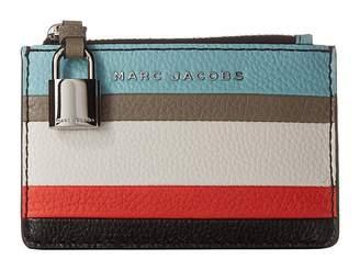 Marc Jacobs The Grind Color Blocked Top Zip Wallet