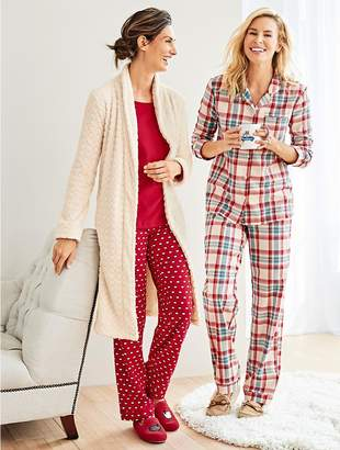 Talbots Womans Exclusive Classic Plaid Sleep Set