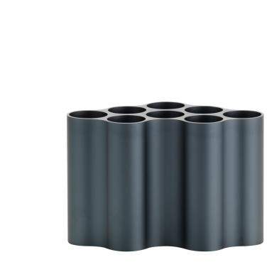Nuage Metallique Vase steel blue, small