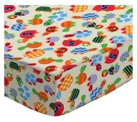 Joovy SheetWorld Fitted Square Playard Sheet (Fits Turtle Fun Yellow - Made In USA - 37.5 inches x 37.5 inches (95.25 cm x 95.25 cm)