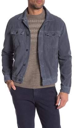 Save Khaki Solid Corduroy Jacket
