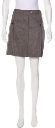 Gunex Virgin Wool Mini Skirt